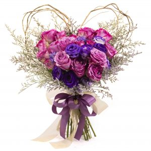 Bridal bouquet Singapore Rosy Romance