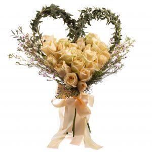 Wedding Bouquet - A Heart of Love