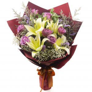 Congratulatory Flower Stand - You Made It!