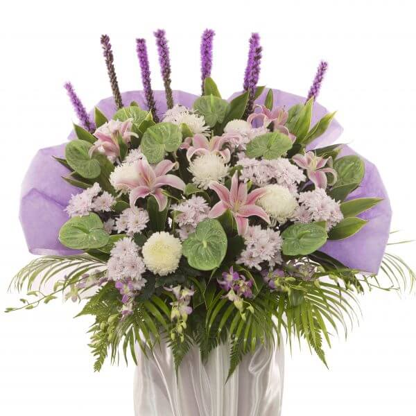 Condolence bouquet - Serenity