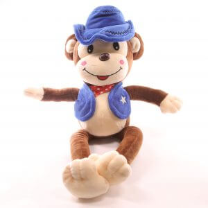 Blue Monkey Toy