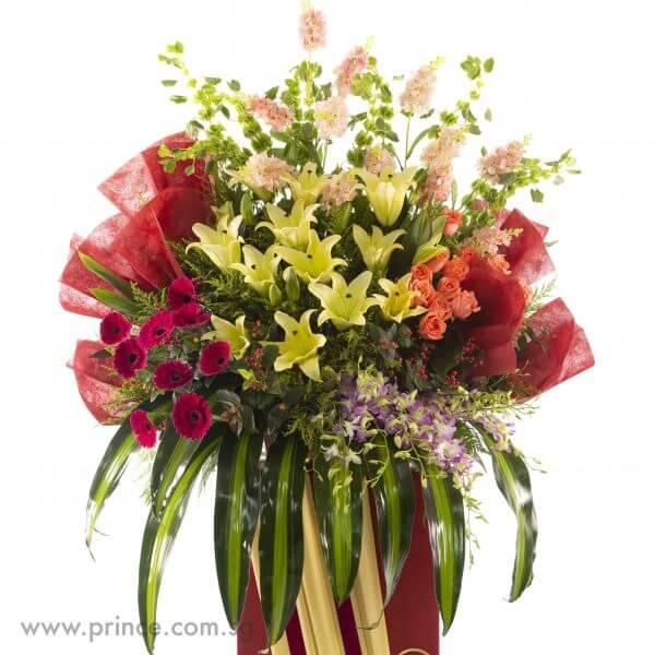 Grand Celebratory Flower Stand