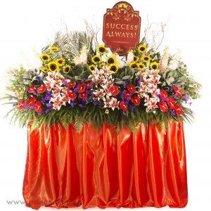 Grand Opening Flower Bouquet - Scarlet Success