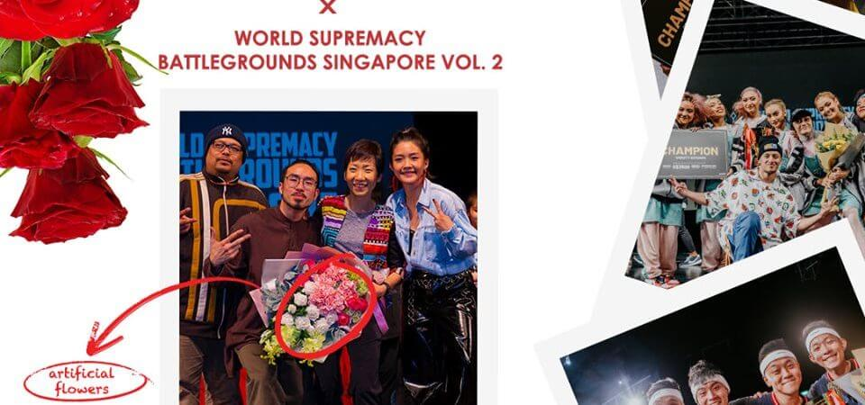 Prince's Flower Shop  X World Supremacy Battlegrounds Singapore Vol.2