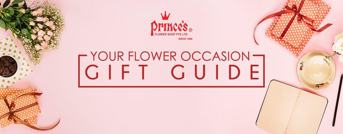 Your Flower Occasion Gift Guide