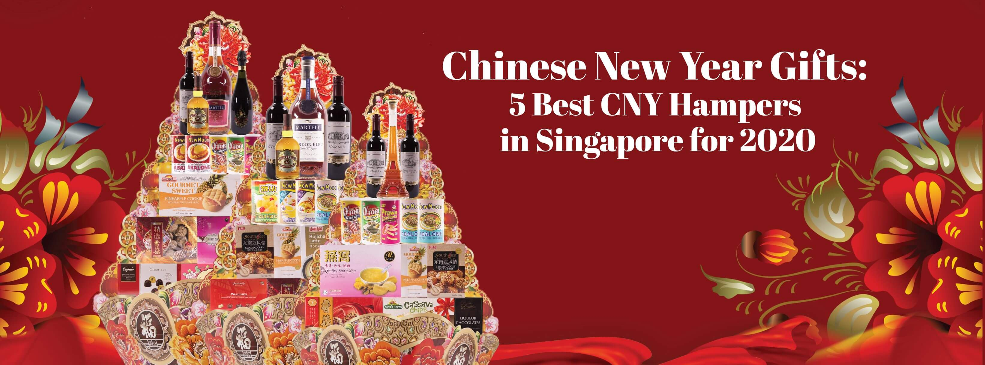 Chinese New Year Gifts: 5 Best CNY Hampers in Singapore for 2020