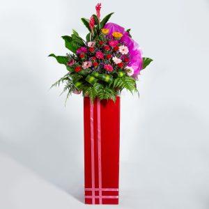 Congratulatory Flower Stand - Boundless Prosperity