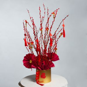 Everlasting Fortune Pussy Willow Arrangement Small